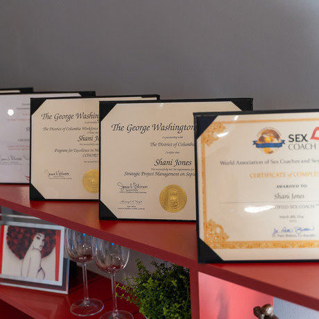 Degrees and Certifications