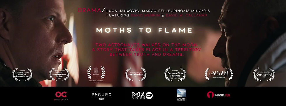 moths to flame falene short movie