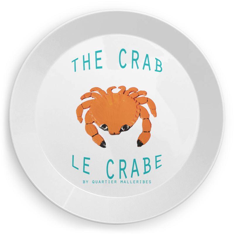 Picnic Plate Le Crabe