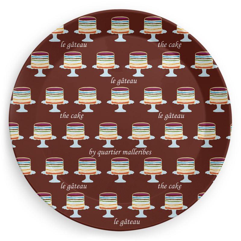 Picnic Plate Le Gâteau (chocolat)
