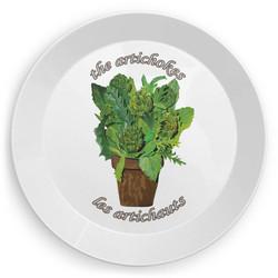 Picnic Plate Les Artichauts