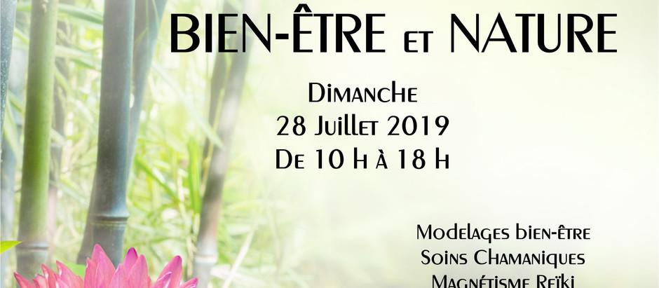 """SALON Bien-être """"Rencontres Bien-être et Nature"""" Brienon/Armançon"""