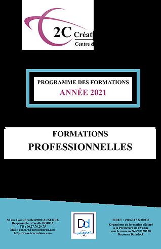 Programme Formations Professionnelles 2C