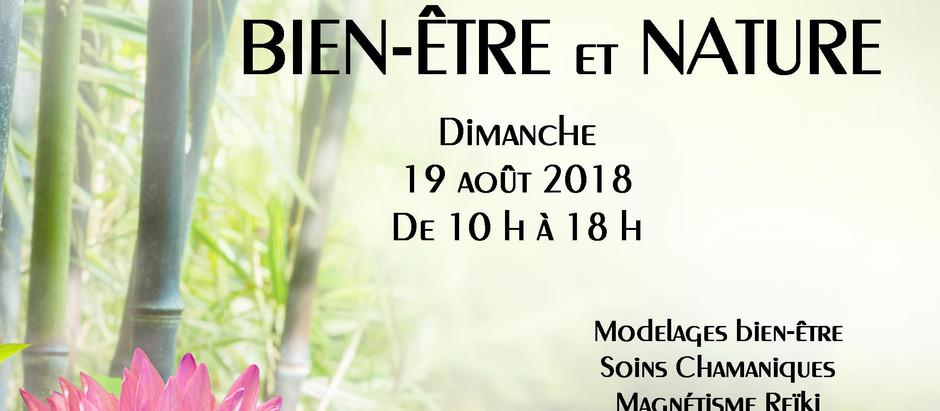 Rencontres Bien-être et Nature Dimanche 19 Août 2018 Gîte Les Sources de Sennevière BRIENON