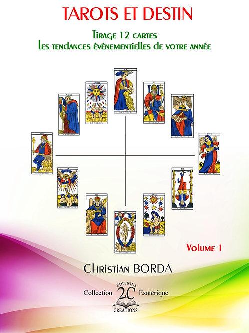 """Tarots et Destin : Tirage 12 cartes"""