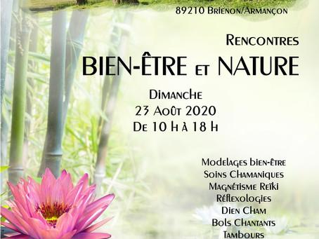 """Salon """"Rencontres Bien-être et Nature"""" Brienon"""