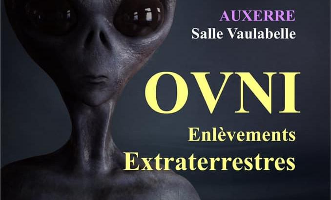 """Conférence Institut Carolle & Christian BORDA """"OVNIS et enlèvements extraterrestres"""""""