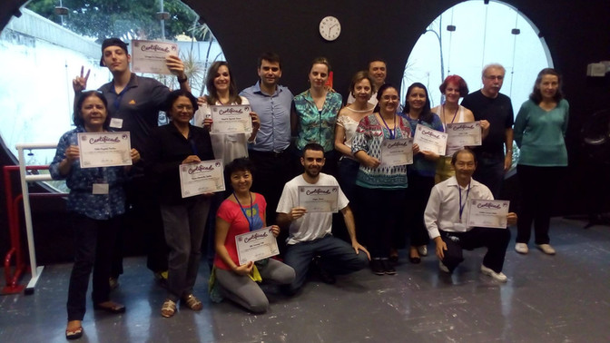 Curso BIO e LEM  Realizado em dezembro 2016  São Paulo - SP