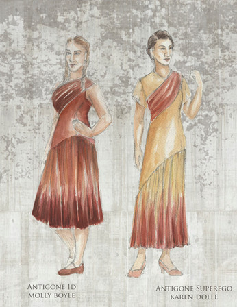 Antigone Id and Superego