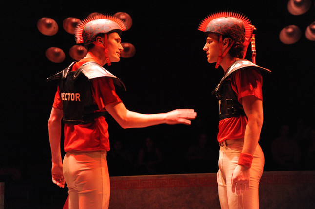 Hector and Troilus