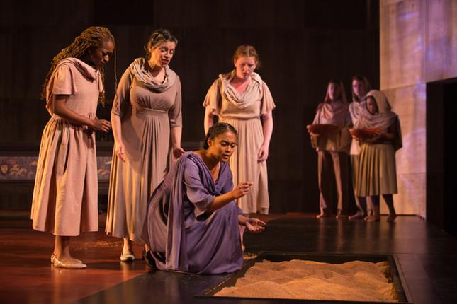 Eurydice and Attendants