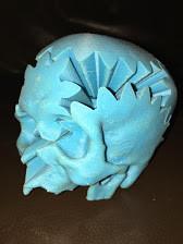 A Cubix Cube - Skull