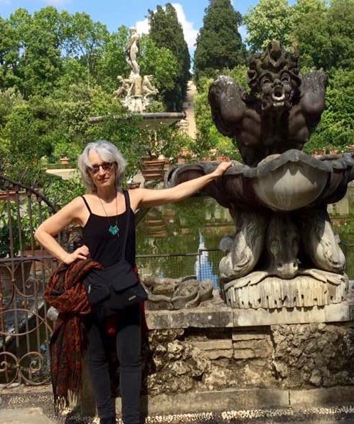 Jenny Groves in Italy 2016