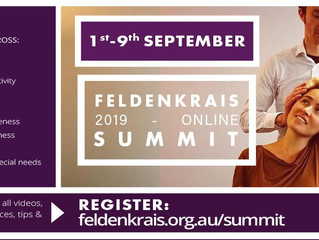 Free online Feldenkrais Summit starting September 1st