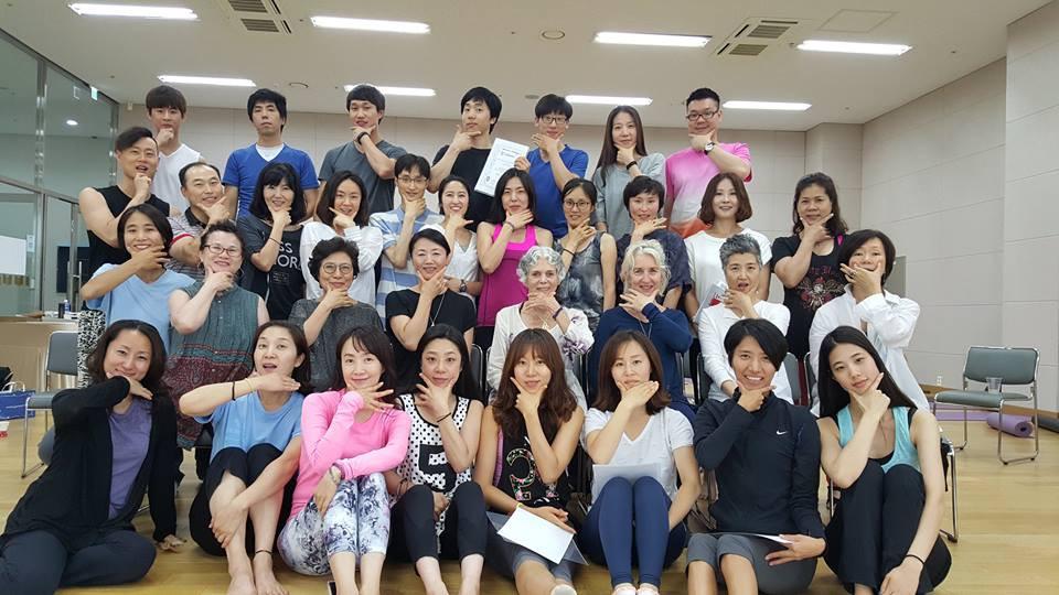 Movement Intelligence graduates in Seoul