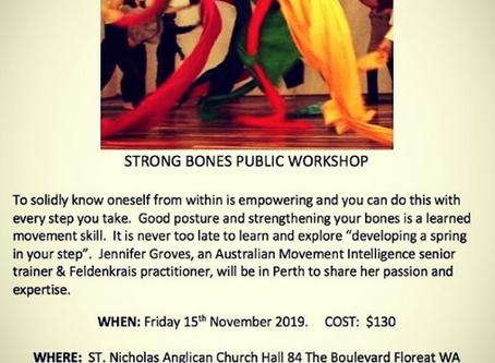 A public movement workshop with Jenny