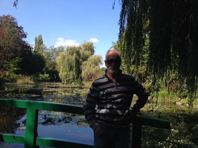 Dr. Franklin no Jardim de Monet