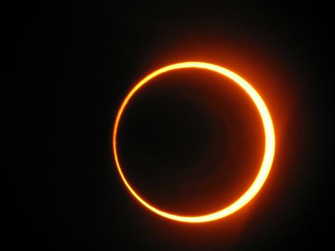 """Eclissi Solare """"Anello di Fuoco"""""""