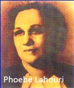 Phoebe Lahouri