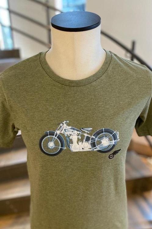 T-Shirt Flying Wheel
