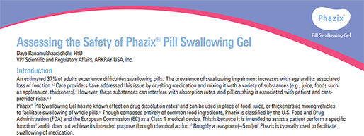 Assessing the Safety of Phazix Pill Swal