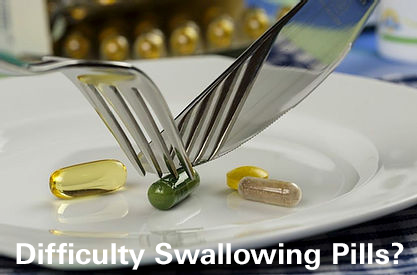 Difficulty swallowing pills?