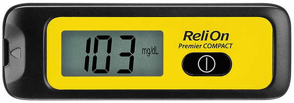 ReliOn Premier Compact Meter Front with