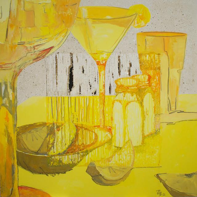 """""""Julie's Lemon drop"""" 36 x 36"""