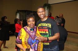 Pastor Jackson and Ms. Diana Barr
