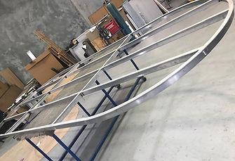 Oval Aluminium Frame