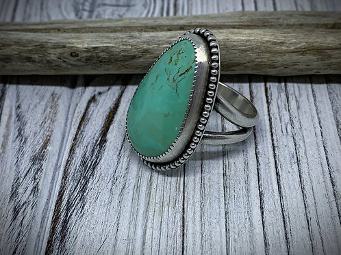 Stenich Turquoise Sterling Silver Statement Ring