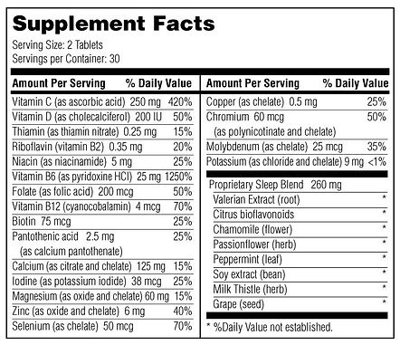 Sleep Ingredients