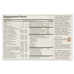 MM6™ for Women Supplement Facts