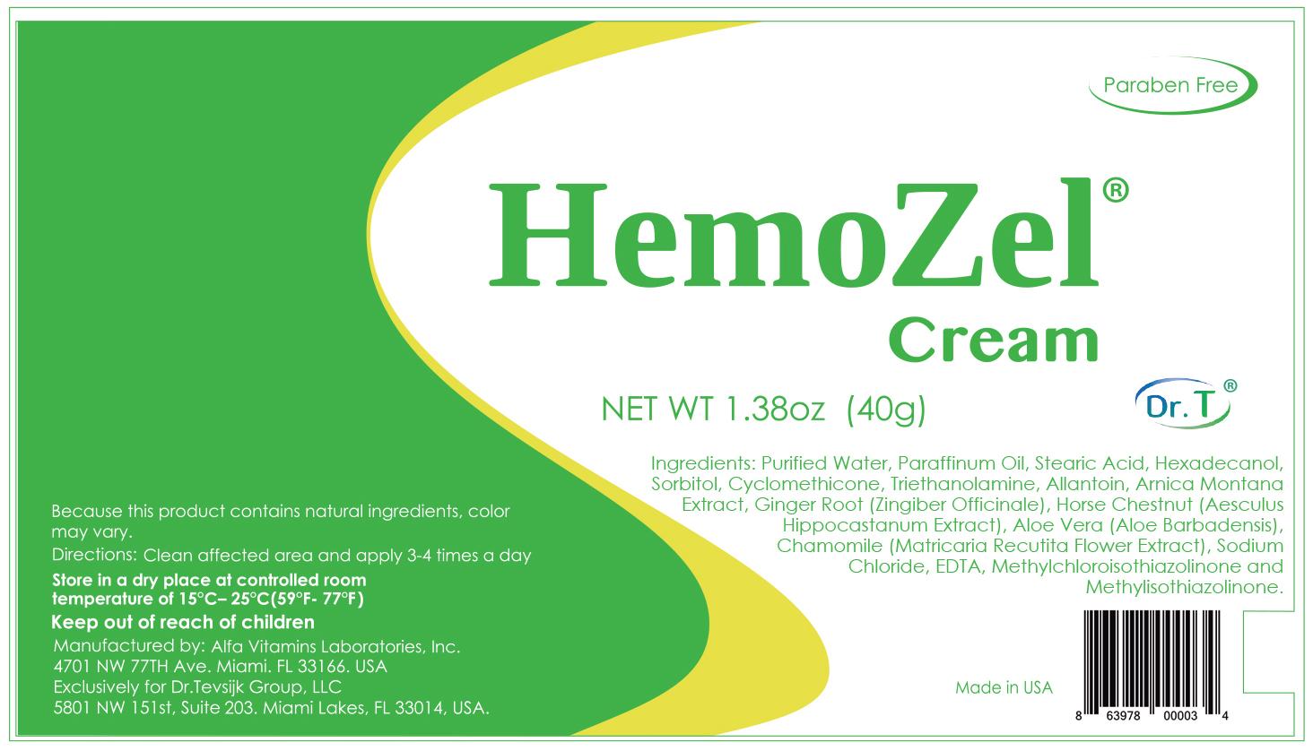 HemoZel Ingredients