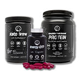 Fitness Combo plant protein energy keto