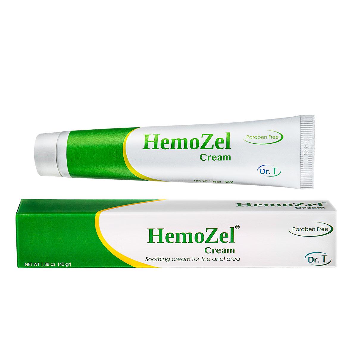 HemoZel Cream Box