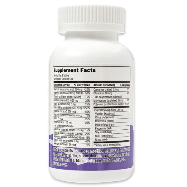 Sleep Supplement Facts