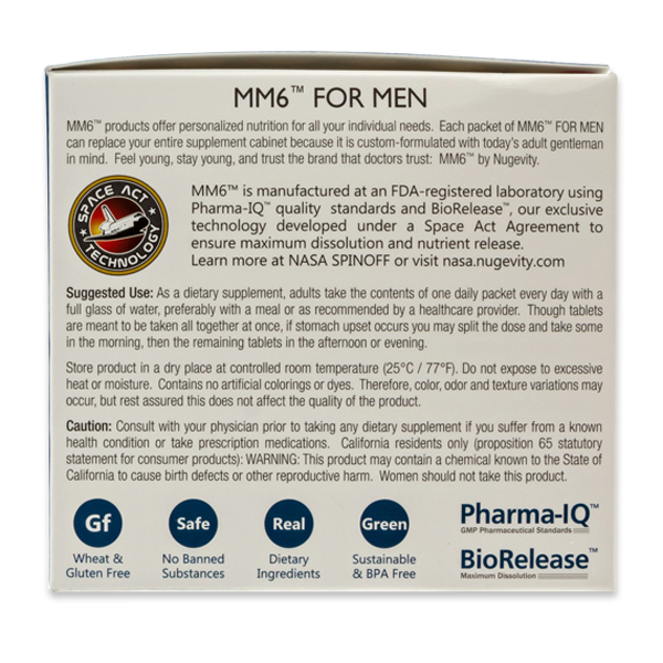 MM6™ for Men Suggested Use