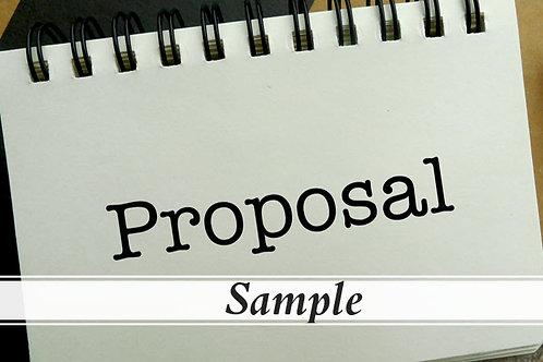 ST-001 Sample GSA Services Proposal