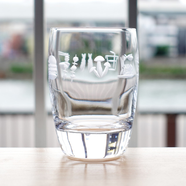 たべものグラス