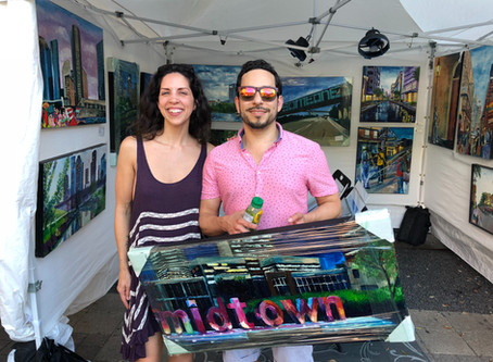 Record Breaking Success at Bayou City Art Festival