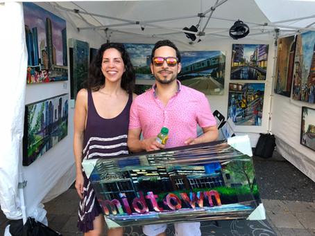 Record Breaking Success at Bayou City Art Festival