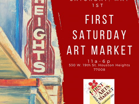 May Edition of First Saturday Art Market