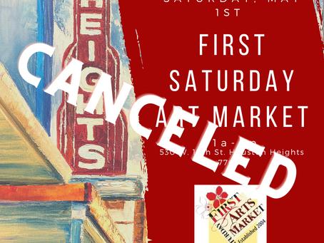 First Saturday Art Market Rescheduled