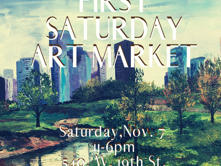 Holiday Edition of First Saturday Art Market