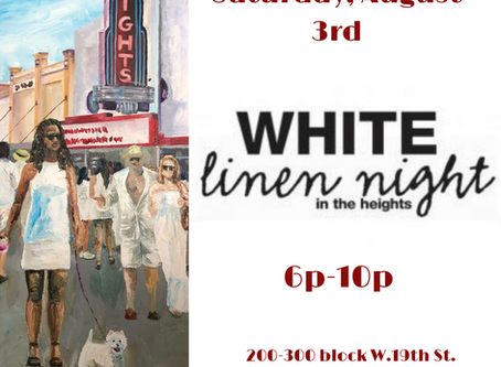 White Linen Night this Saturday!