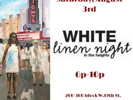 White Linen Night this Saturday!