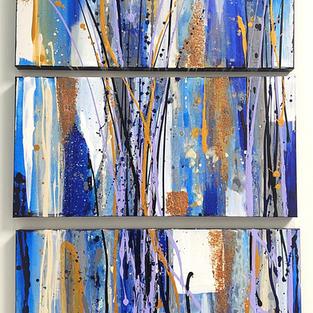 Favorite Colors Triptych