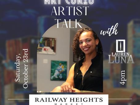 Artist Talk at Railway Heights