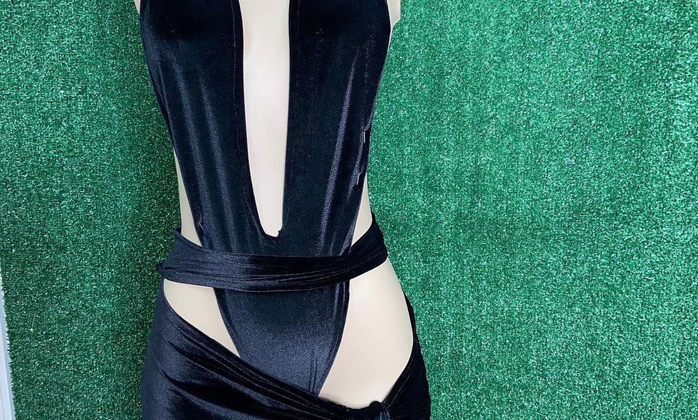 Crush Velvet Dress